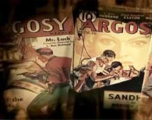 L. Ron Hubbard heeft verhalen in verschillende genres voor periodieke pulptijdschriften geschreven, waaronder Argosyen Astounding Sciencefiction .